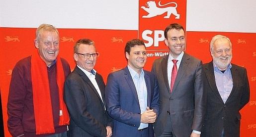 Gruppenbild nach der Nominierung der Landtagskandidaten für den Wahlkreis Böblingen/Sindelfingen